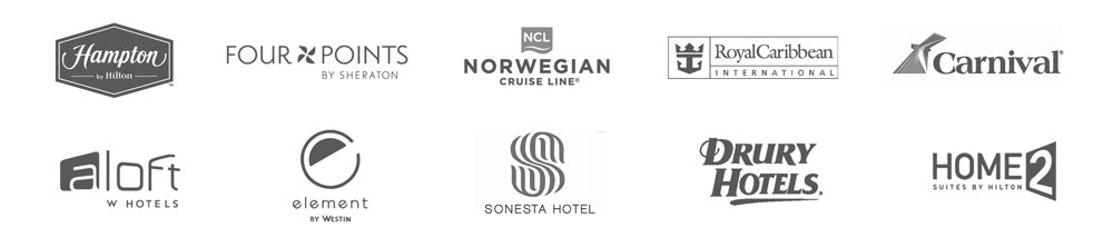 Trusted by Hotel Brands