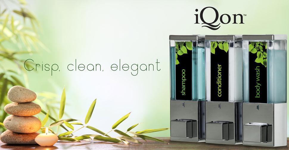 iQon: Crisp, clean, elegant
